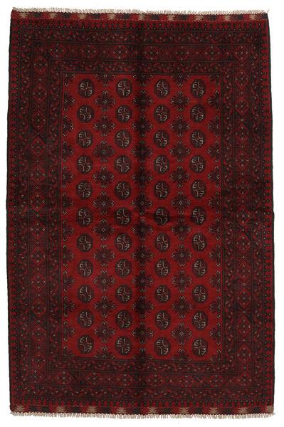 Afghan Rug 165X245 Authentic  Oriental Handknotted Dark Brown/Dark Red (Wool, Afghanistan)