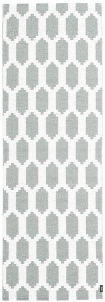 Fortuna - Zöld/White Szőnyeg 70X280 Modern Bézs/Krém/Világosszürke ( Svédország)