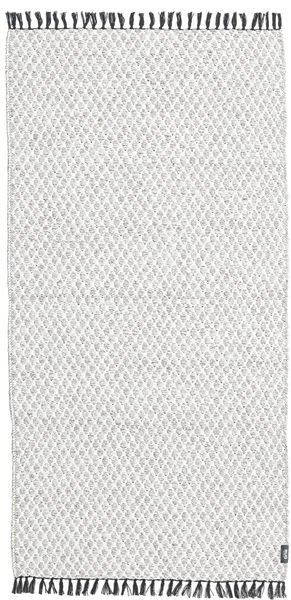 Comfort - Grey Rug 70X150 Modern Light Grey/White/Creme ( Sweden)