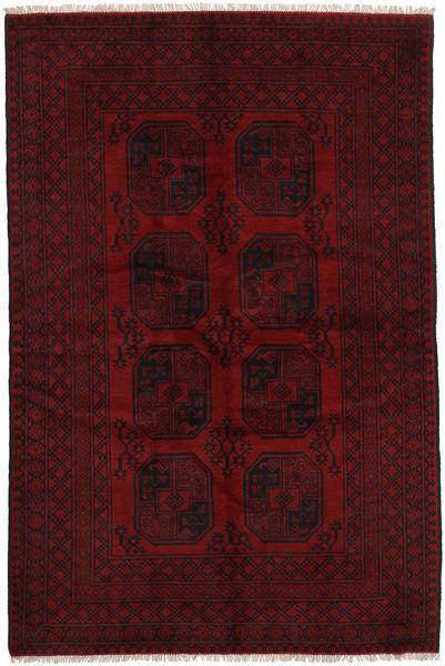 Afgan Dywan 160X246 Orientalny Tkany Ręcznie Ciemnoczerwony (Wełna, Afganistan)