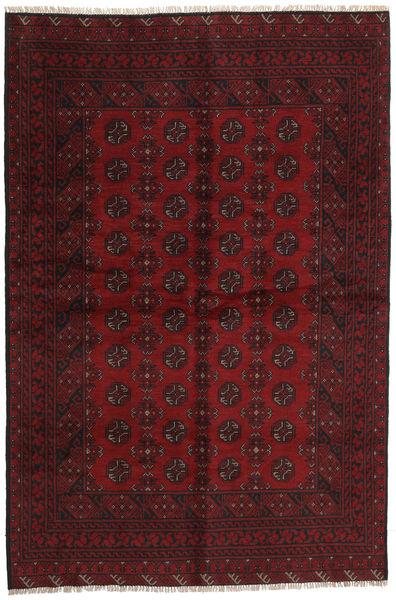 Afgan Dywan 157X237 Orientalny Tkany Ręcznie Ciemnoczerwony/Ciemnobrązowy (Wełna, Afganistan)