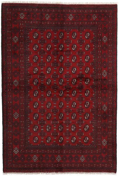Afgan Dywan 164X240 Orientalny Tkany Ręcznie Ciemnoczerwony (Wełna, Afganistan)