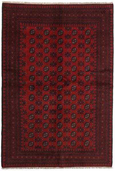 Afgan Dywan 159X234 Orientalny Tkany Ręcznie Ciemnoczerwony/Czerwony (Wełna, Afganistan)