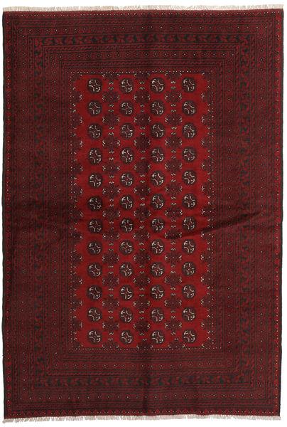 Afgan Dywan 166X242 Orientalny Tkany Ręcznie Ciemnoczerwony (Wełna, Afganistan)