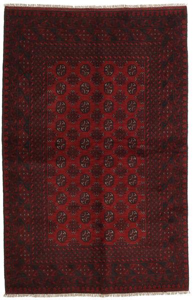 Afgan Dywan 156X241 Orientalny Tkany Ręcznie Ciemnoczerwony (Wełna, Afganistan)