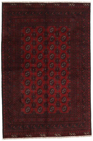 Afgan Dywan 156X237 Orientalny Tkany Ręcznie Ciemnoczerwony (Wełna, Afganistan)