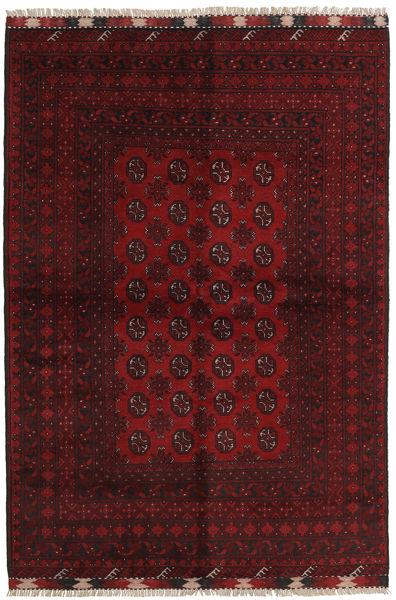 Afghan Rug 161X234 Authentic  Oriental Handknotted Dark Brown/Dark Red (Wool, Afghanistan)