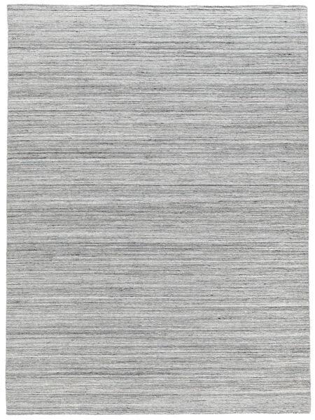 Petra - Light_Mix Matto 140X200 Moderni Käsinkudottu Vaaleanharmaa/Valkoinen/Creme ( Intia)