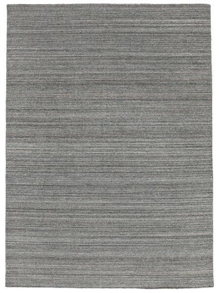 Petra - Dark_Mix Alfombra 140X200 Moderna Tejida A Mano Gris Oscuro/Azul Claro ( India)