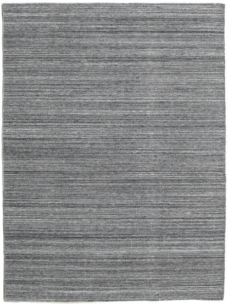 Petra - Dark_Mix Teppe 160X230 Ekte Moderne Håndvevd Mørk Grå/Lys Blå ( India)