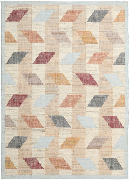 Flakes Rug 200X300 Authentic  Modern Handwoven Light Brown/Beige ( India)