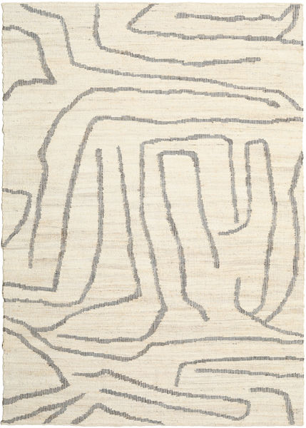 Native Rug 200X300 Authentic  Modern Handwoven Beige/Light Grey ( India)