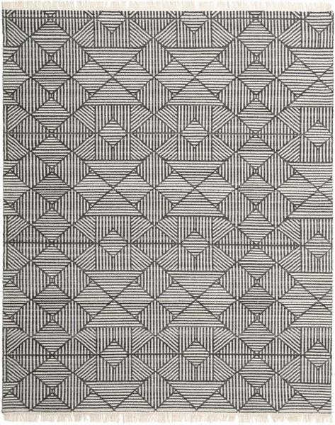 Mauri Matto 250X300 Moderni Käsinkudottu Vaaleanharmaa/Tummanharmaa Isot (Villa, Intia)