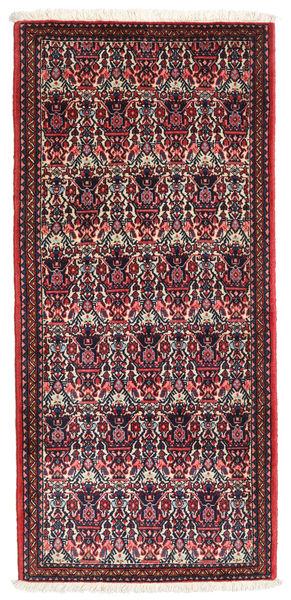 Abadeh Matto 68X148 Itämainen Käsinsolmittu Tummanvihreä/Tummanruskea (Villa, Persia/Iran)