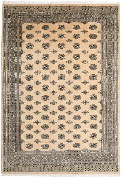 Pakistan Bokhara 2Ply Rug 241X348 Authentic  Oriental Handknotted Light Brown/Dark Beige (Wool, Pakistan)