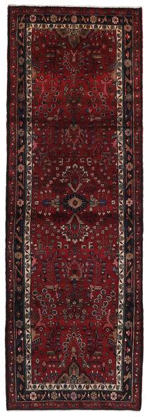 Mehraban Rug 107X318 Authentic  Oriental Handknotted Hallway Runner  Dark Brown/Dark Red (Wool, Persia/Iran)