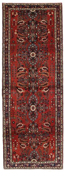 Mehraban Matto 110X304 Itämainen Käsinsolmittu Käytävämatto Tummanpunainen/Musta (Villa, Persia/Iran)