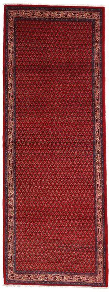 Sarough Mir Matto 107X293 Itämainen Käsinsolmittu Käytävämatto Tummanpunainen/Tummansininen (Villa, Persia/Iran)