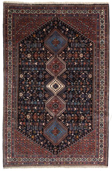 Yalameh Sherkat Farsh Teppe 155X238 Ekte Orientalsk Håndknyttet Mørk Rød/Mørk Grå (Ull, Persia/Iran)
