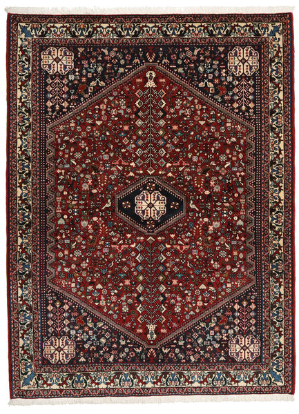 Abadeh Sherkat Farsh Rug 155X208 Authentic  Oriental Handknotted Dark Red/Dark Grey (Wool, Persia/Iran)