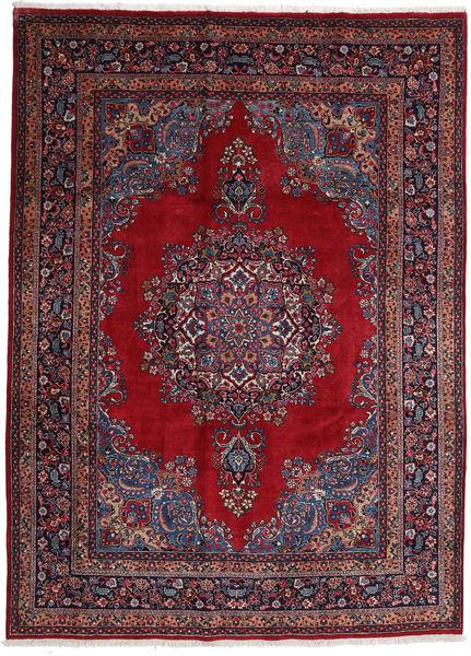 Mashad Matto 244X337 Itämainen Käsinsolmittu Tummanpunainen/Punainen (Villa, Persia/Iran)
