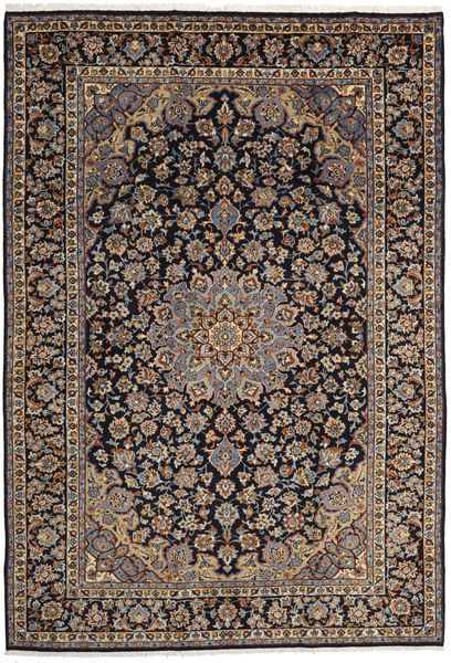 Mashad Rug 246X358 Authentic  Oriental Handknotted Light Brown/Dark Green (Wool, Persia/Iran)
