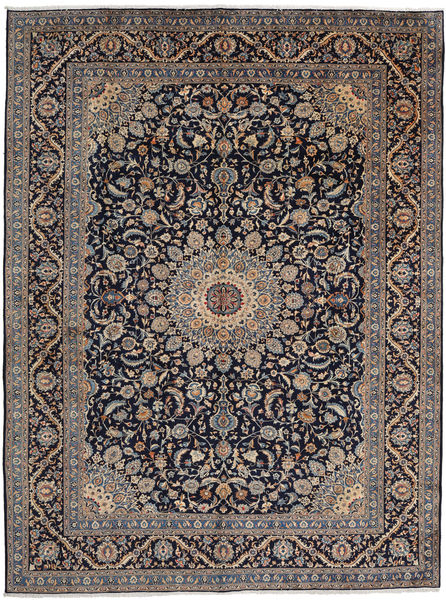 Mashad Rug 297X397 Authentic  Oriental Handknotted Light Brown/Black Large (Wool, Persia/Iran)