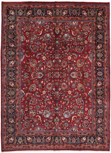 Mashad Rug 295X402 Authentic  Oriental Handknotted Dark Red/Crimson Red Large (Wool, Persia/Iran)