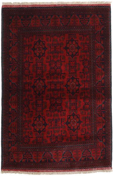 Afghan Khal Mohammadi Matto 103X153 Itämainen Käsinsolmittu Tummanpunainen (Villa, Afganistan)