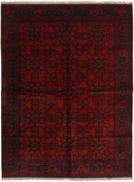 Afghan Khal Mohammadi Covor 175X235 Orientale Lucrat Manual Roșu-Închis (Lână, Afganistan)