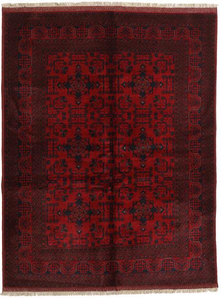 Afghan Khal Mohammadi Matto 148X193 Itämainen Käsinsolmittu Tummanruskea/Tummanpunainen (Villa, Afganistan)