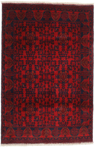 Afghan Khal Mohammadi Rug 123X186 Authentic  Oriental Handknotted Dark Red/Crimson Red (Wool, Afghanistan)