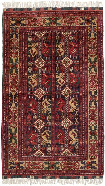 Afghan Khal Mohammadi Rug 98X156 Authentic  Oriental Handknotted Dark Red/Black (Wool, Afghanistan)