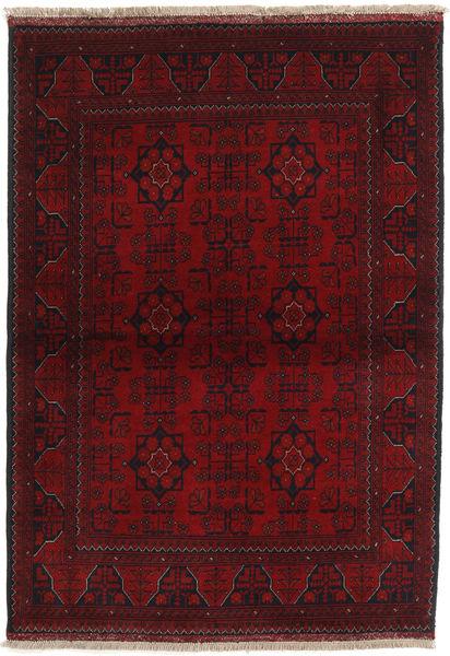 Afghan Khal Mohammadi Matto 103X149 Itämainen Käsinsolmittu Tummanpunainen/Tummanruskea (Villa, Afganistan)