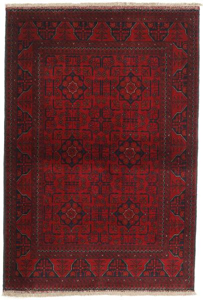 Afgan Khal Mohammadi Dywan 103X151 Orientalny Tkany Ręcznie Ciemnoczerwony/Ciemnobrązowy (Wełna, Afganistan)