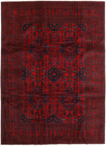 Afghan Khal Mohammadi Matto 251X341 Itämainen Käsinsolmittu Tummanpunainen/Tummanruskea Isot (Villa, Afganistan)