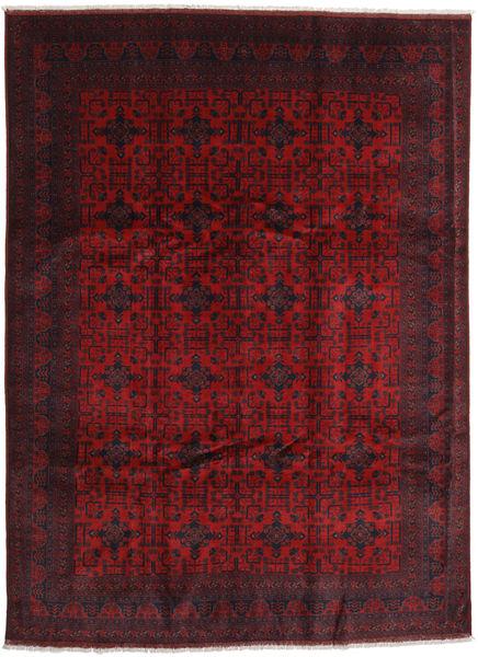 Afghan Khal Mohammadi Matto 255X341 Itämainen Käsinsolmittu Tummanpunainen/Punainen Isot (Villa, Afganistan)