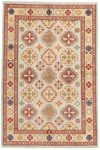 Kazak Rug 164X246 Authentic  Oriental Handknotted Dark Beige/Brown (Wool, Pakistan)