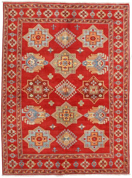 Kazak Rug 167X223 Authentic  Oriental Handknotted Rust Red/Light Brown (Wool, Pakistan)