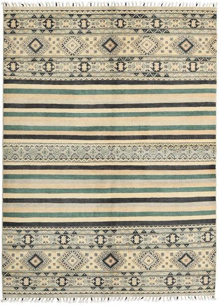 Kazak Matto 170X235 Itämainen Käsinsolmittu Tummanbeige/Tummanharmaa (Villa, Pakistan)