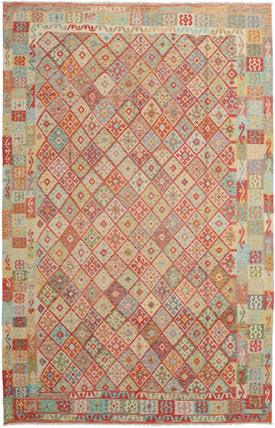Kilim Afghan Old Style Rug 317X492 Authentic  Oriental Handwoven Light Brown/Brown Large (Wool, Afghanistan)