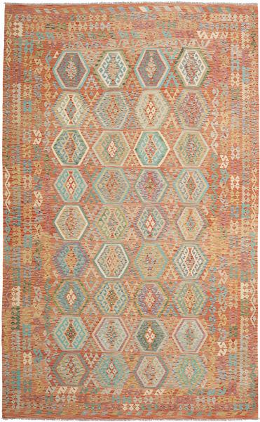Kilim Afghan Old Style Rug 304X495 Authentic  Oriental Handwoven Light Brown/Light Grey Large (Wool, Afghanistan)