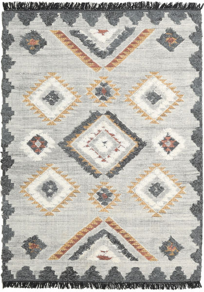 Dixie Rug 170X240 Authentic  Modern Handwoven Light Grey/Beige (Wool, India)
