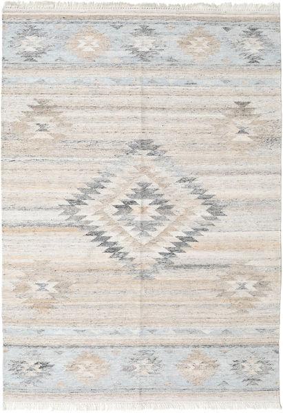 Tulum Szőnyeg 160X230 Modern Kézi Szövésű Világosszürke/Bézs ( India)