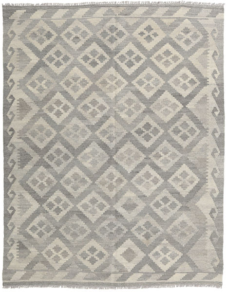 Kilim Afghan Old Style Rug 153X197 Authentic  Oriental Handwoven Light Grey (Wool, Afghanistan)