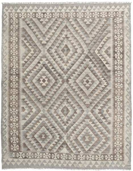 Kilim Afghan Old Style Rug 157X197 Authentic  Oriental Handwoven Light Grey/Light Brown (Wool, Afghanistan)