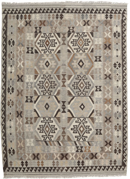 Kilim Afghan Old Style Rug 177X245 Authentic  Oriental Handwoven Light Brown/Light Grey (Wool, Afghanistan)