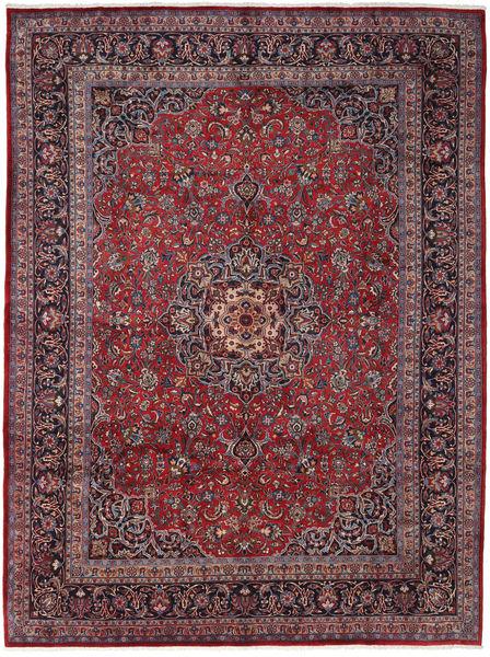 Mashad Rug 291X388 Authentic  Oriental Handknotted Dark Purple/Dark Grey Large (Wool, Persia/Iran)