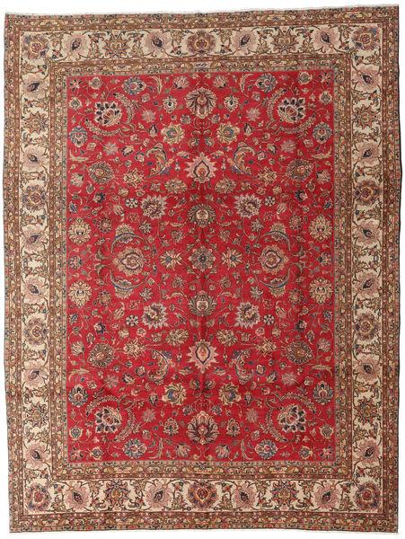 Tabriz Rug 289X382 Authentic  Oriental Handknotted Dark Red/Brown Large (Wool, Persia/Iran)