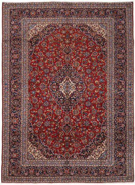 Keshan Matto 291X401 Itämainen Käsinsolmittu Ruskea/Tummanpunainen Isot (Villa, Persia/Iran)